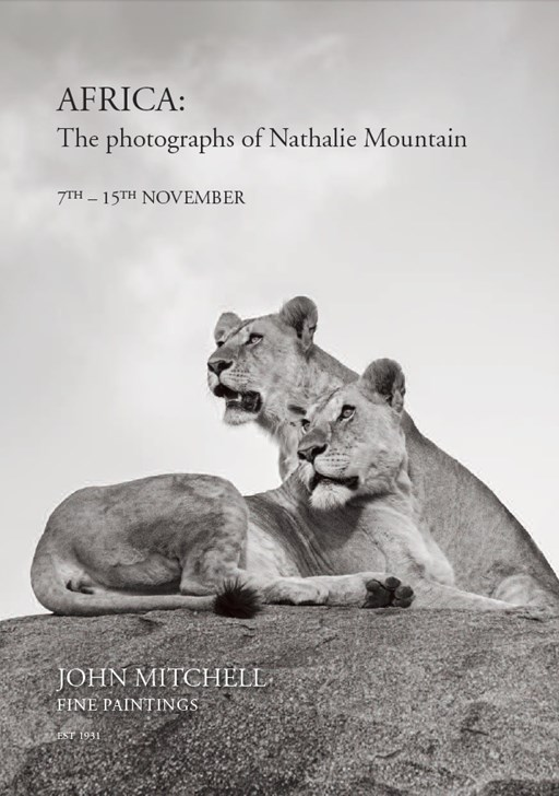 AFRICA: The photographs of Nathalie Mountain, 7th - 15th November