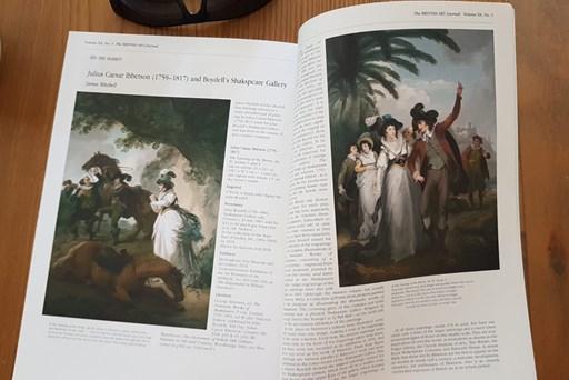 Julius Caesar Ibbetson (1759-1817) and Boydell's Shakspeare Gallery